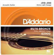 Daddario EZ900 Great American Bronze 85/15 Extra Light 10-50