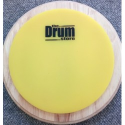DRUMstore Practice Pad 7'' Single Sided Non Slip Yellow