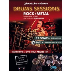 Drums Sessions Drums Bk/Dvd