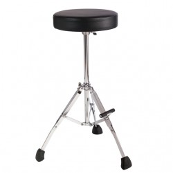 "GGS10S  Short 21"" fold up tripod with foot rest Gibraltar"