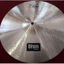 TEC 14'' Double Hammered Crash Cymbal DRUMstore