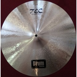TEC 18'' Double Hammered Crash Cymbal DRUMstore